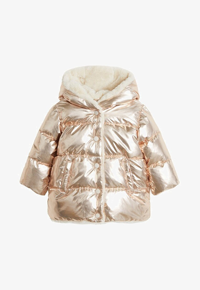 Mango - LONG - Płaszcz zimowy - copper