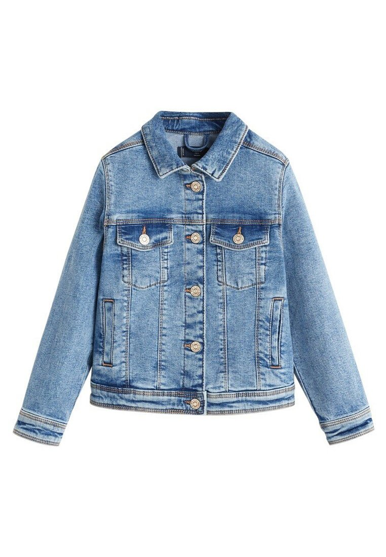 Mango - ALLEGRA - Denim jacket - mellemblå