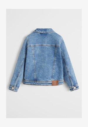 ALLEGRA - Kurtka jeansowa - mellemblå