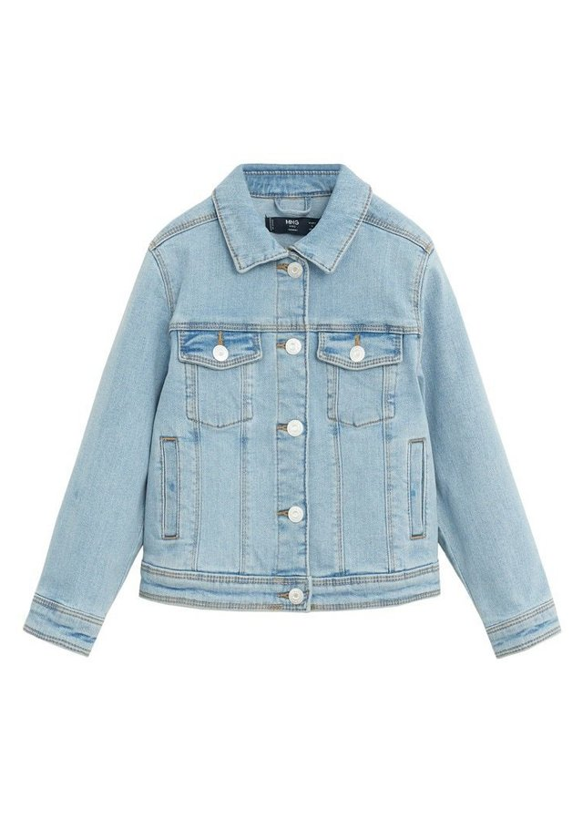 ALLEGRA - Giacca di jeans - lyseblå