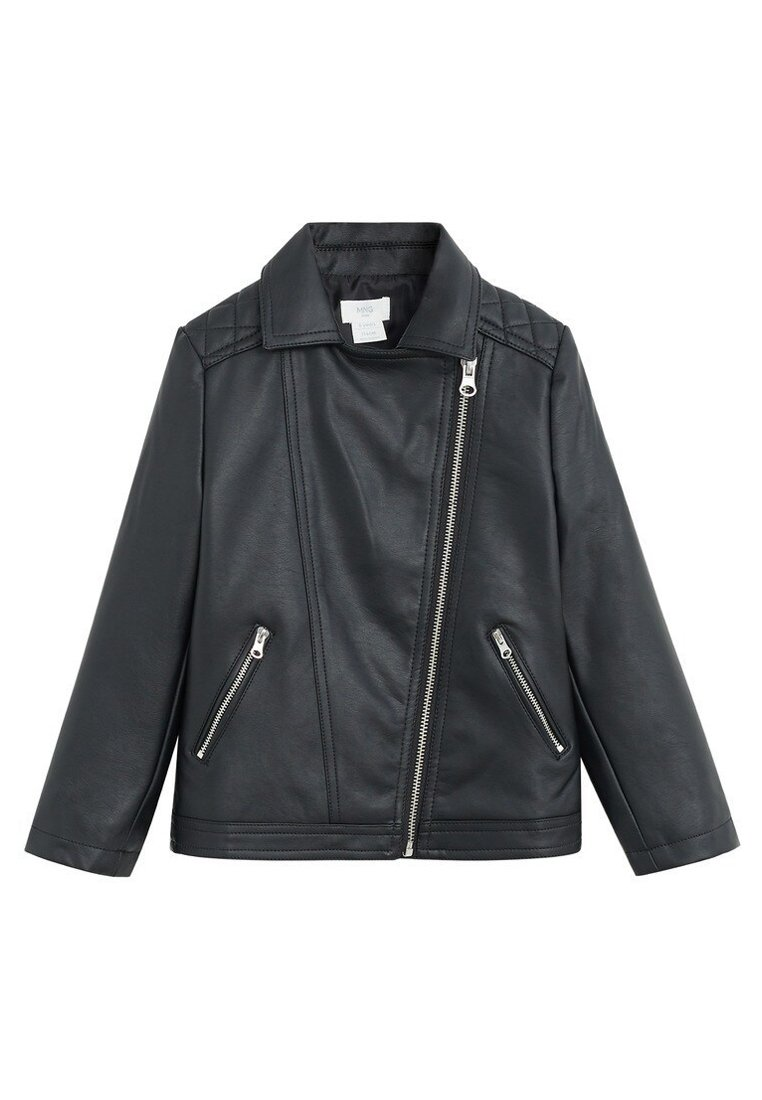Mango - ARPA - Leather jacket - nero