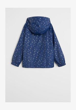 CENTEN - Waterproof jacket - dunkles marineblau