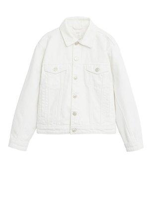 MARIA - Veste en jean - hvid