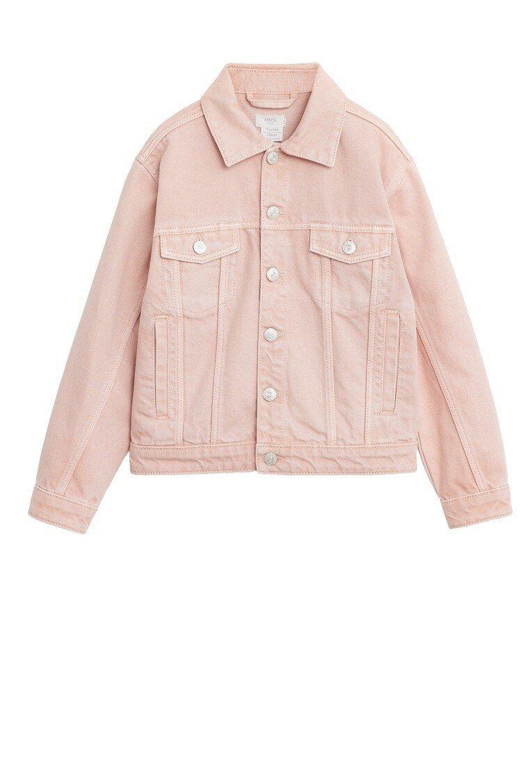 Mango - MARIA - Denim jacket - lyserød