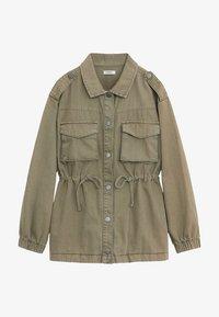 Mango - SAFARI - Light jacket - khaki - 0