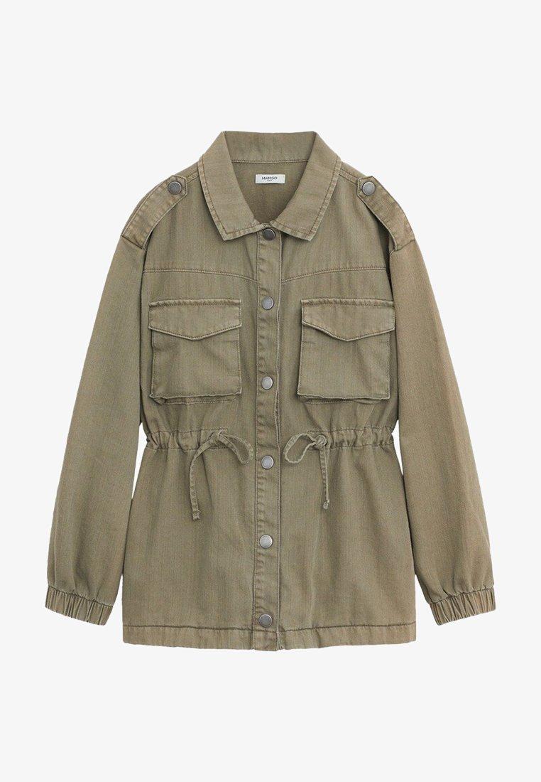 Mango - SAFARI - Light jacket - khaki