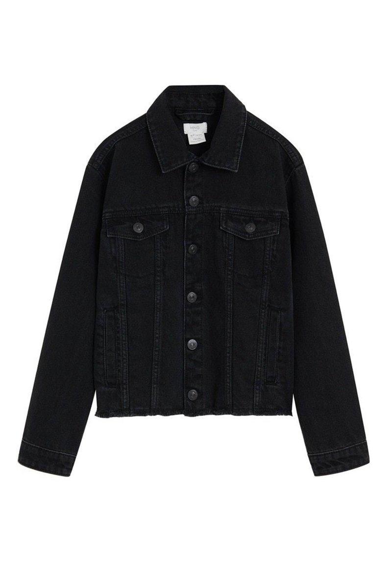 Mango - MARIAN - Veste en jean - black denim