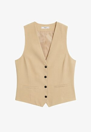 COSTUME BOUTONS - Waistcoat - beige