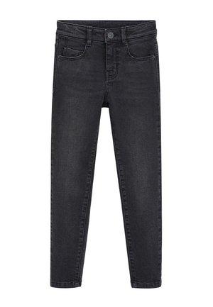 SKINNY - Jeans Skinny Fit - sort denim
