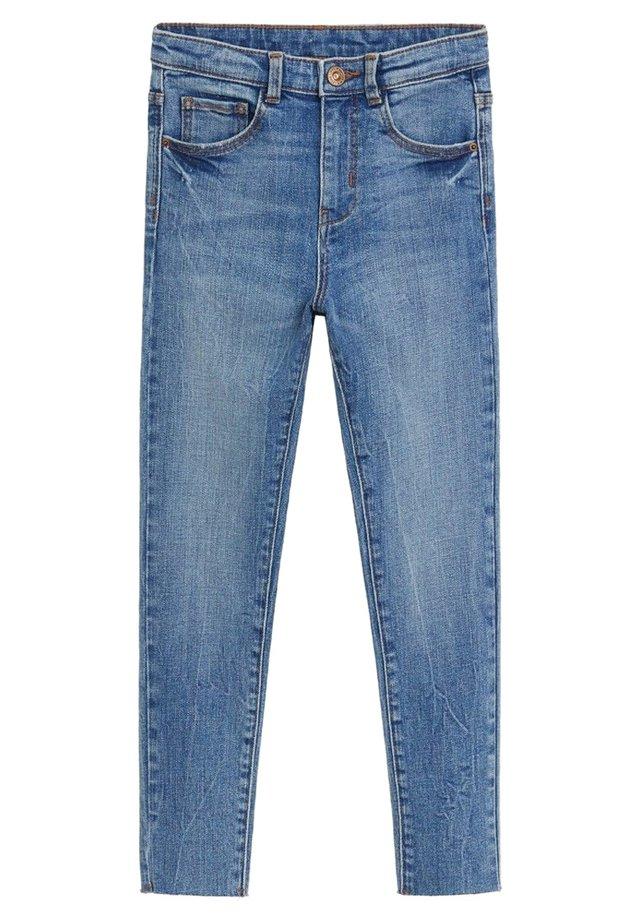 LORA - Slim fit -farkut - mellemblå