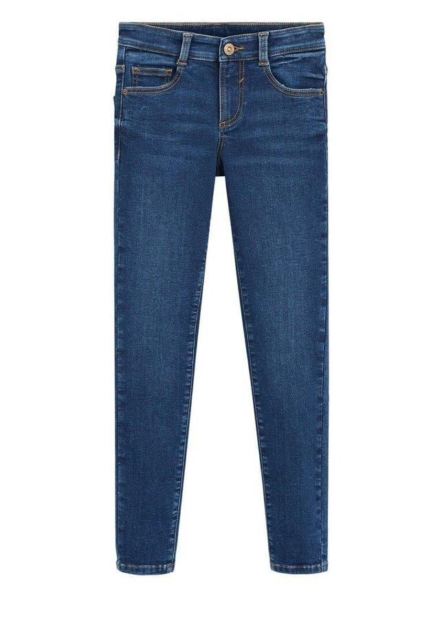 SUPERSK - Jeans Skinny Fit - mørkeblå