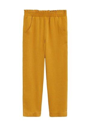 CULOTTES I 100 % LYOCELL - Pantalon classique - sennepsgul