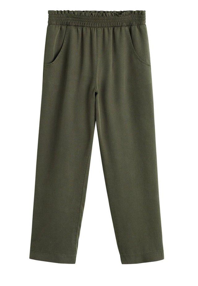 CULOTTES I 100 % LYOCELL - Pantaloni - kaki