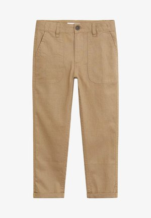 YUCCA - Stoffhose - open beige