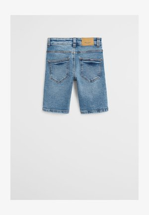 JOHN - Jeans Shorts - mittelblau