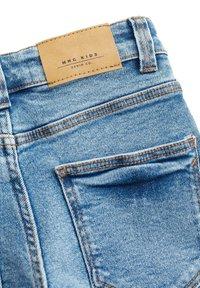 Mango - JOHN - Jeans Shorts - mittelblau - 2