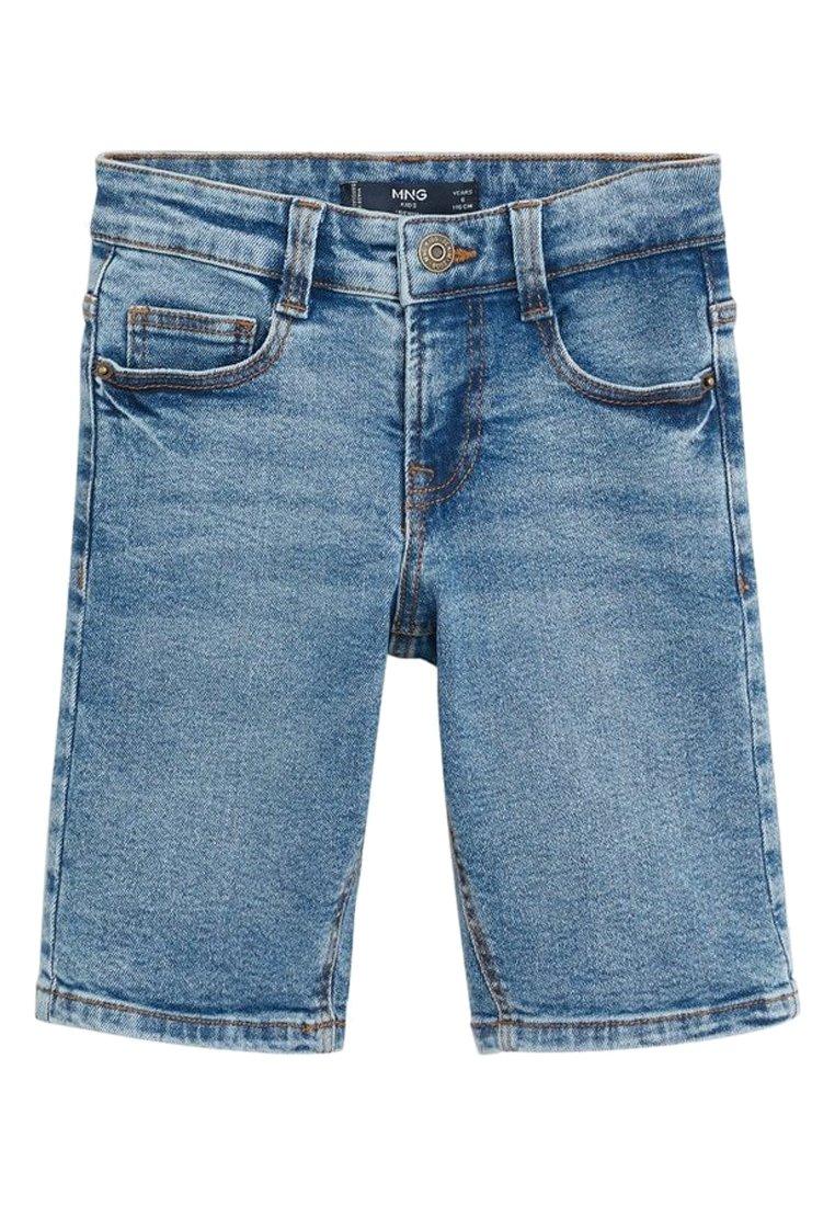Mango - JOHN - Jeans Shorts - mittelblau