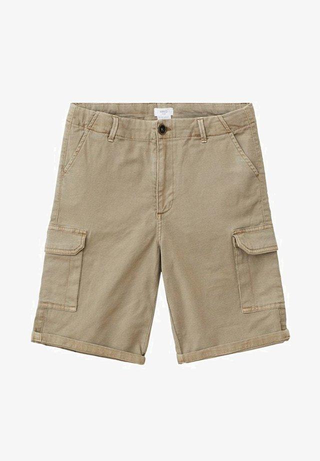KIMO - Shorts - marron