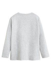 Mango - SONIC - T-shirt à manches longues - Mottled medium grey - 1