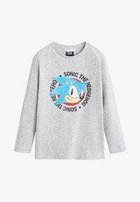Mango - SONIC - T-shirt à manches longues - Mottled medium grey - 0