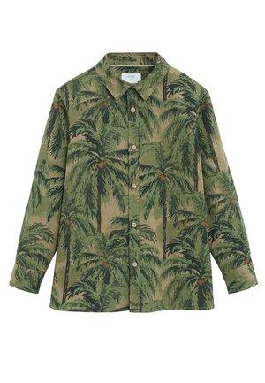 BAUMWOLLHEMD MIT HAWAII-PRINT - Koszula - khaki
