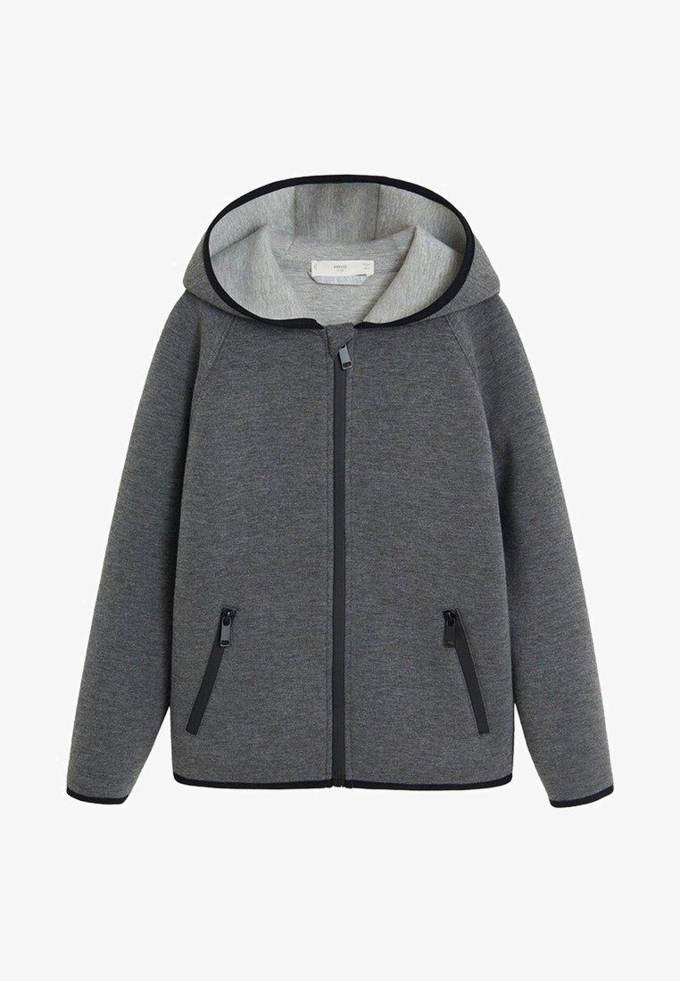 Mango - PABLO - Zip-up hoodie - grey