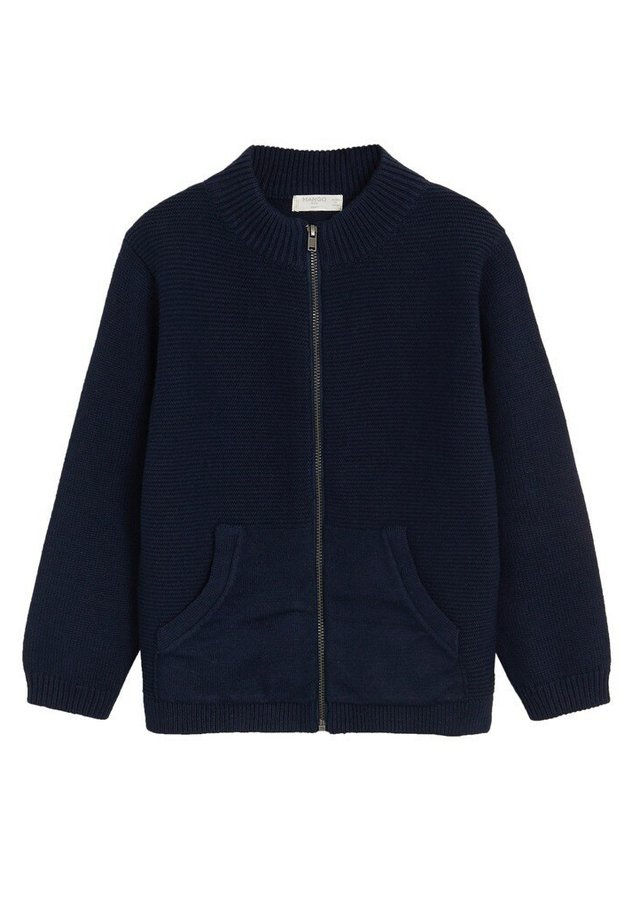 DAVID - Cardigan - dunkles marineblau