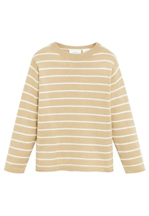 LUCAS - Strickpullover - beige