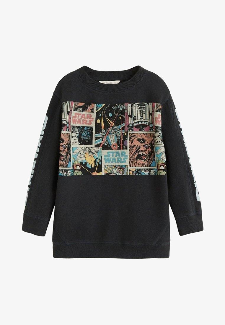 Mango - LUKE - Sweater - anthracite