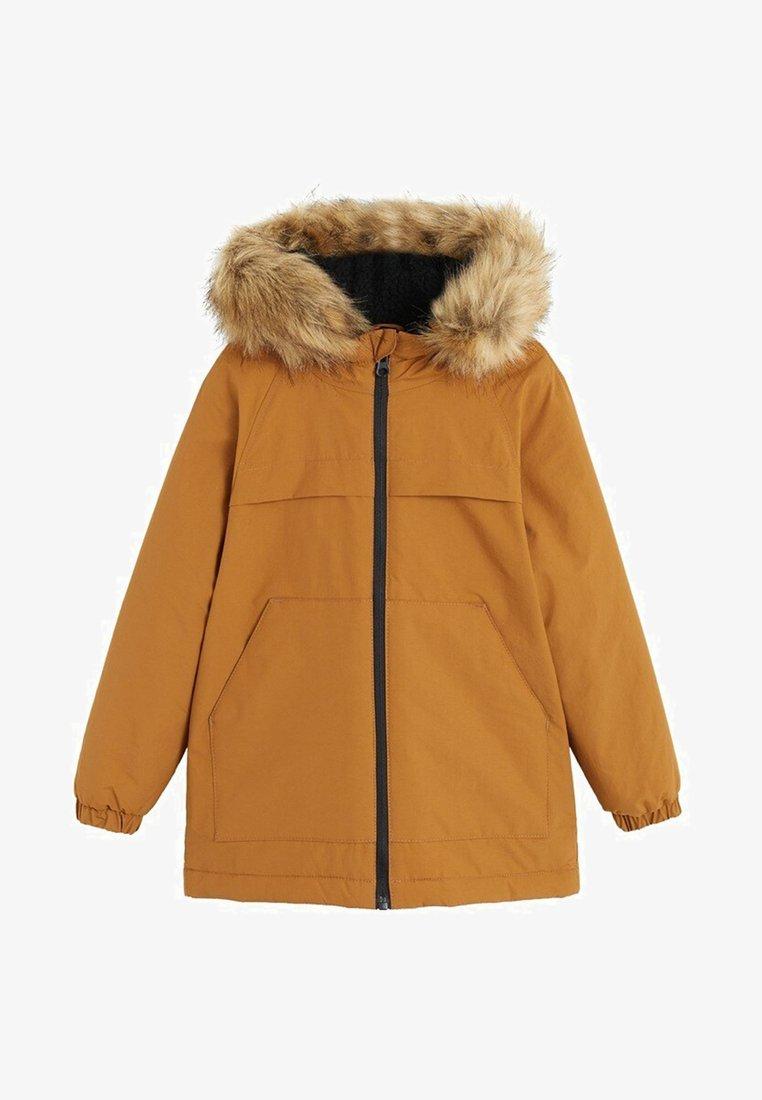 Mango - PALM - Winter jacket - ochre