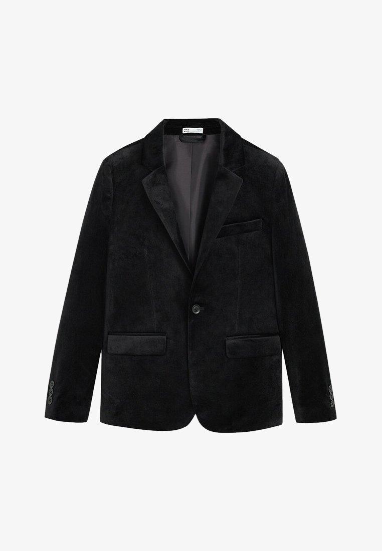 Mango - VELVET - Blazer jacket - black