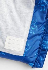 Mango - GEMUSTERTE KAPUZENJACKE - Smanicato - blau - 3