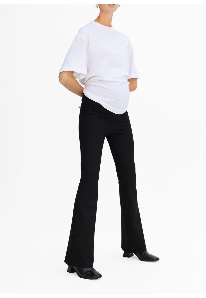 Mango - MATERNITY LEGGINGS - Legging - schwarz
