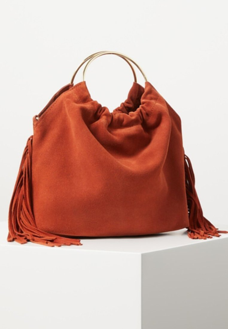 Mango - JASON - Handbag - burnt orange