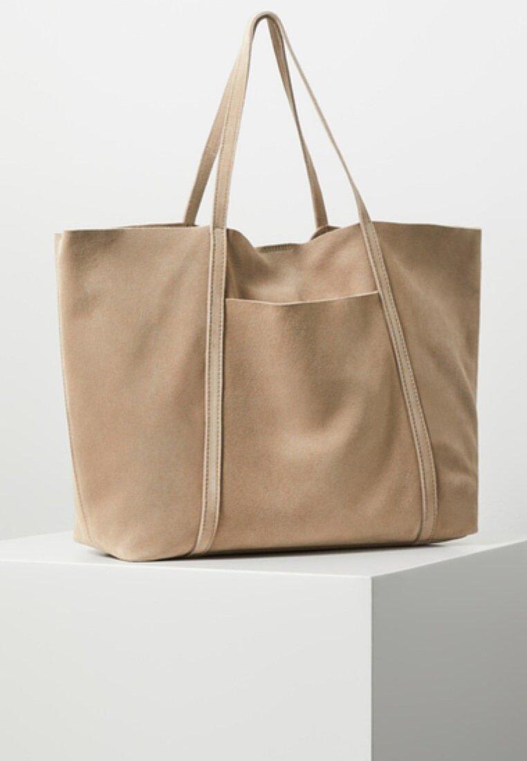Mango - JORDINA - Shoppingväska - light brown