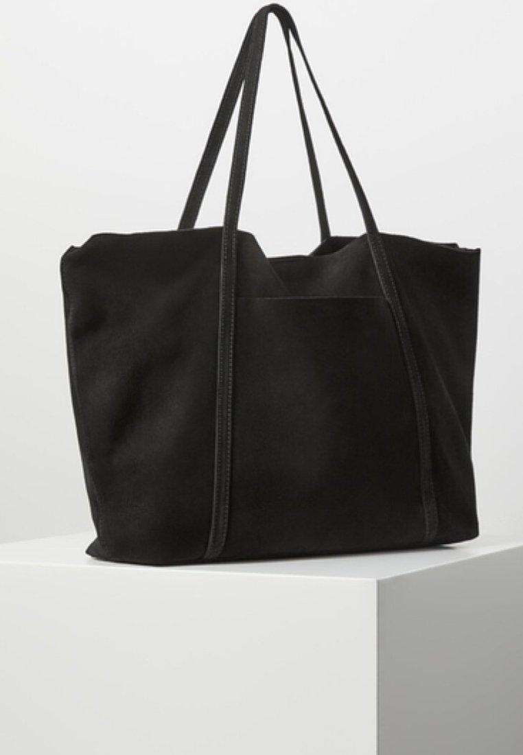 Mango - JORDINA - Shopping Bag - black