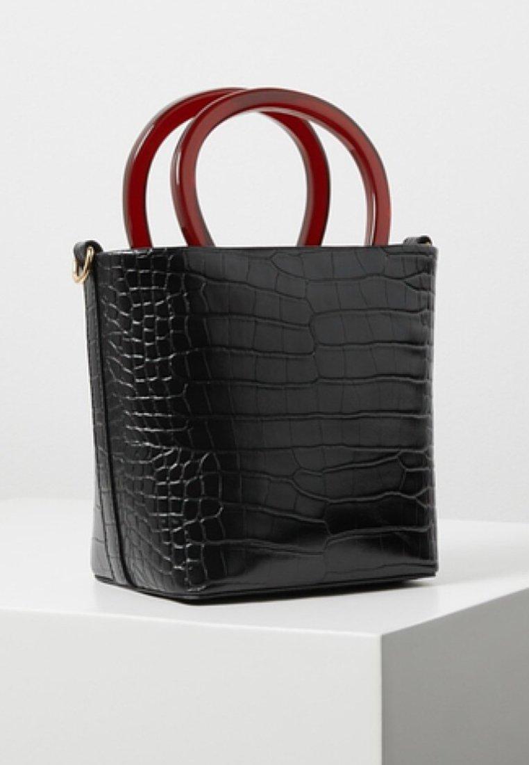 Mango - FOFY - Handtasche - black
