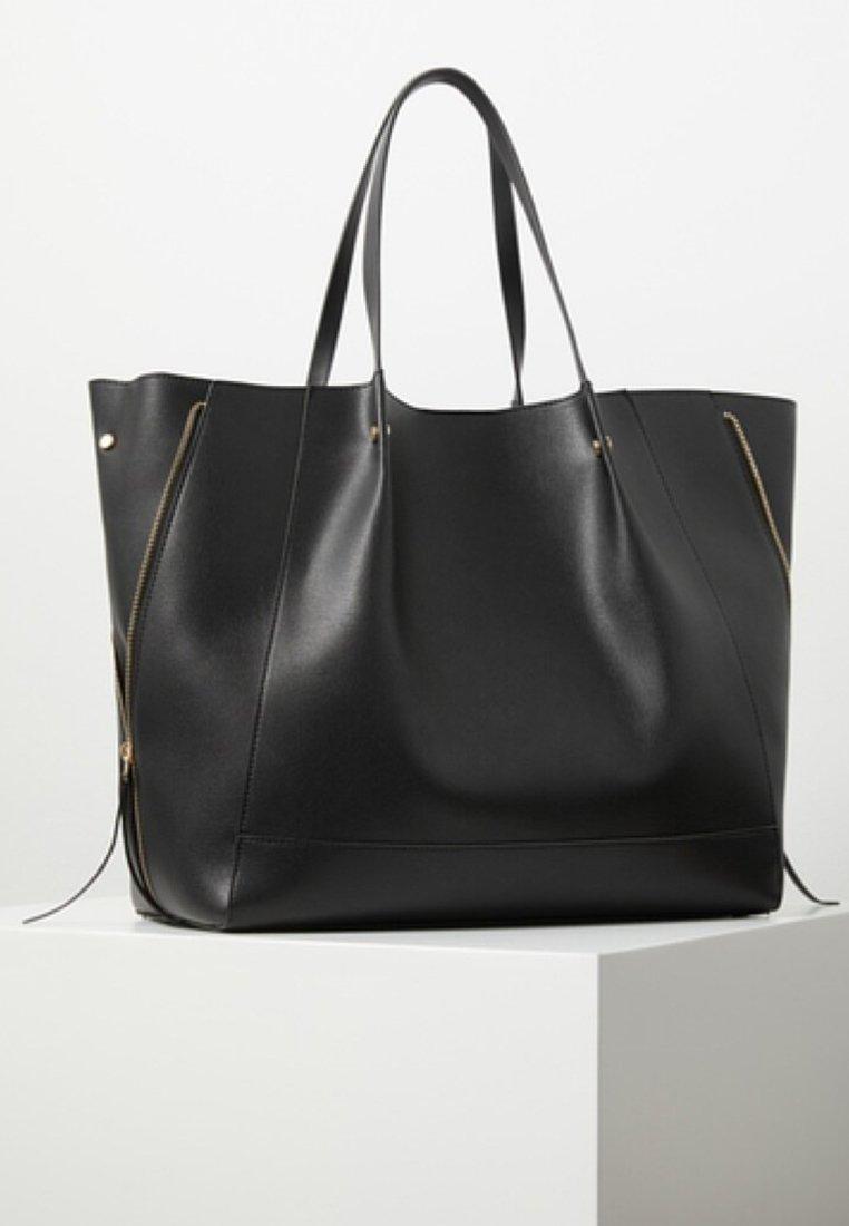 Mango - VALERIA - Shopping bags - black