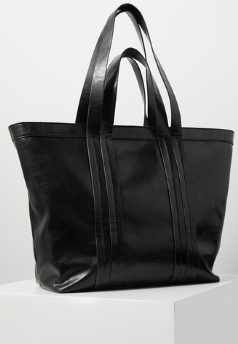 Mango - TABAS - Handtasche - black