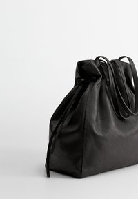 Mango - Fillat - Håndveske - black - 2