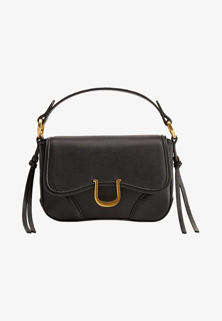 Mango - EQUESTRE - Handtasche - black