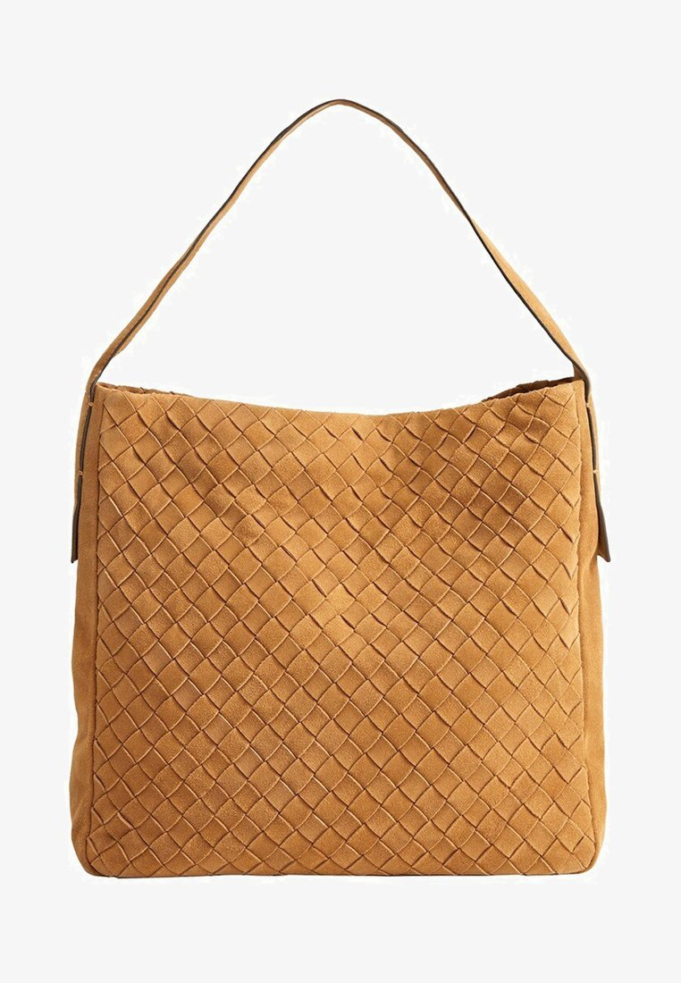 Mango - ABIGAIL - Handtasche - medium brown