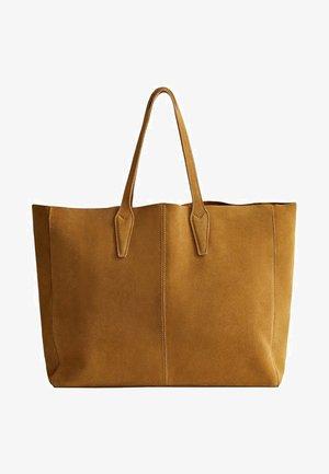 ARRIBES - Tote bag - medium brown