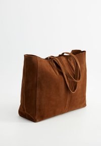 Mango - ARRIBES - Shopper - chocolate - 2