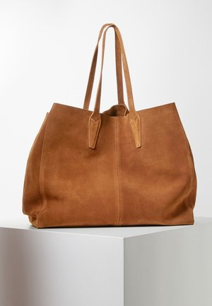 ARRIBES - Bolso shopping - chocolate
