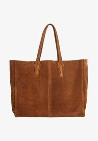 Mango - ARRIBES - Shopping bag - chocolate