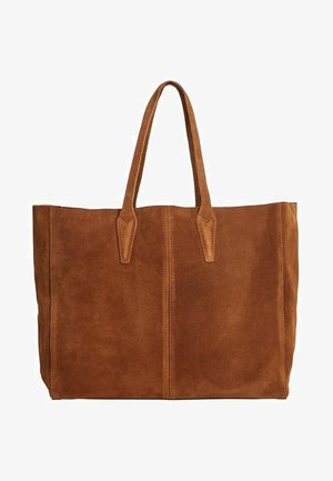 ARRIBES - Shopping bag - chocolate
