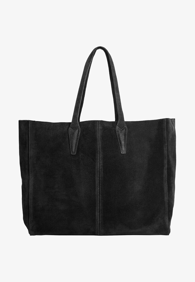 Mango - ARRIBES - Shopping Bag - black