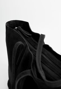 Mango - ARRIBES - Shopping Bag - black - 2