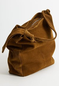 Mango - ARLANZA - Shopping Bag - medium brown - 1